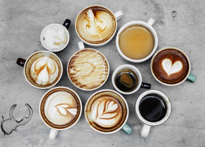 caffè, capuccino e latte macchiato con i prodotti Brasilmoka