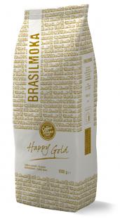 Confezione Happy Gold Brasilmoka - Caffè in grani 1000g - 500g