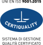 Certificazione ISO 9001:2015 di qualità conseguita da Brasilmoka